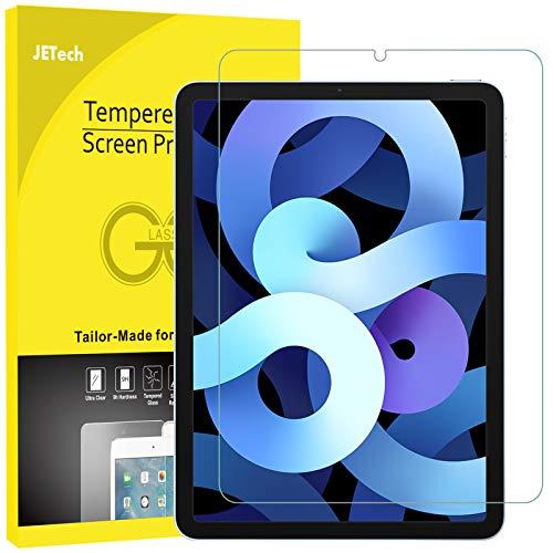 JETech Protection Écran Compatible avec iPad Air 4 (10,9-Pouces, Modèle 2020, 4eGénération), Film de Protection en Verre Trempé