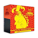 Pokemon Cards: Sword & Shield 4 Vivid Voltage Elite Pikachu - Trainer Box, Multicolor