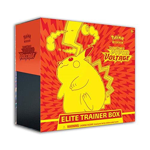 Pokémon TCG: Sword & Shield 4 Vivid Voltage Elite Trainer Box