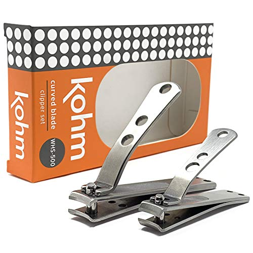 Kohm Nail Clipper Set for Thick Nails