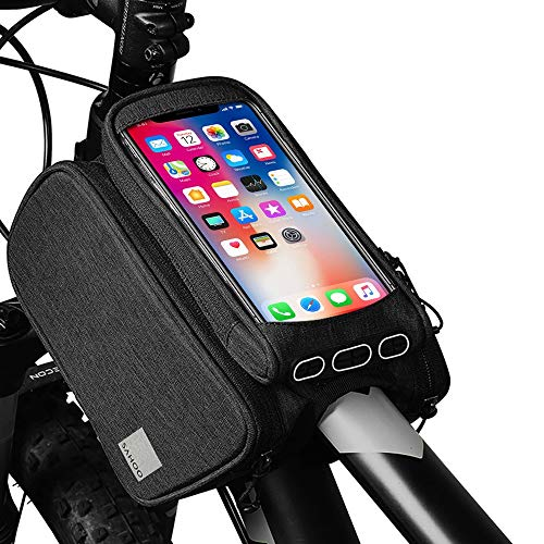 Wotow, borsa da sella con porta cellulare, permette l'utilizzo del touchscreen, ideale per...