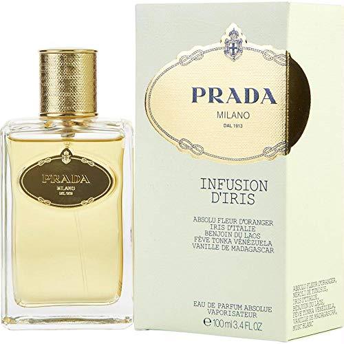 Prada Infusion D'Iris femme / woman, Eau de Parfum, Vaporisateur / Spray 100 ml Asolue, 1er Pack (1 x 100 ml)