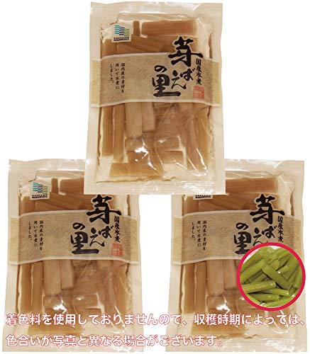 北海道物産 国産 ふき水煮 100g×3袋