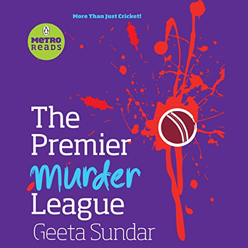 The Premier Murder League audiobook cover art