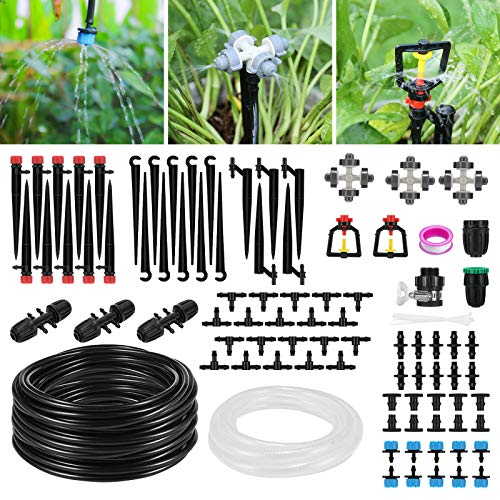 Homga 130ft/40M Automatic Garden Irrigation Kit Now $11.59 (Was $28)