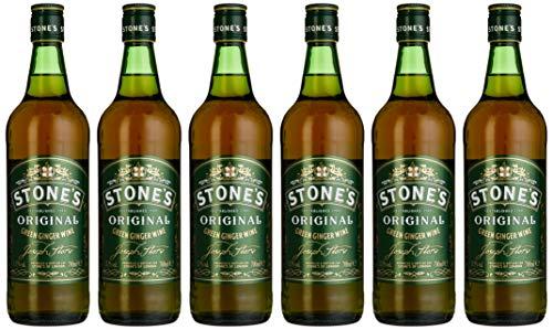 Stone's of London Original Green Ginger Wine Halbtrocken (6 x 0.7 l)