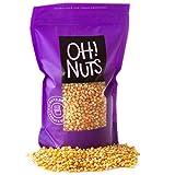 Oh! Nuts Mushroom Popcorn Kernels | Bulk 5lb Bag of 100% All Natural Large White Whole Grain Raw...