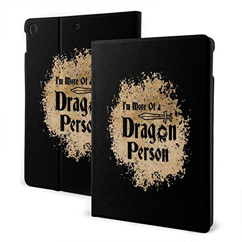 Ipad Air 3 Case I'm More of A Dragon Person Fire Ipad Pro 10.5 Inch Slim Shell Smart Auto Wake Sleep Cover