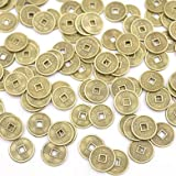 feng Shui 500pcs 10mm-24mm Replica Chinese Qing Dynasty Coins Copper 5 Emperor Random Choose Size