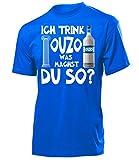 Ich Trink Ouzo was Machst du so 4923 Saufen Sauf Griechenland Geschenke Lustig Sprüche Geschenk...