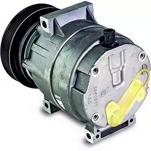 EcommerceParts 9145374923119 - Compresor de aire acondicionado para el fabricante: Genuine, ID del compresor: V5, polea de 130 mm de diámetro, número de aletas: 6, tensión: 12 V