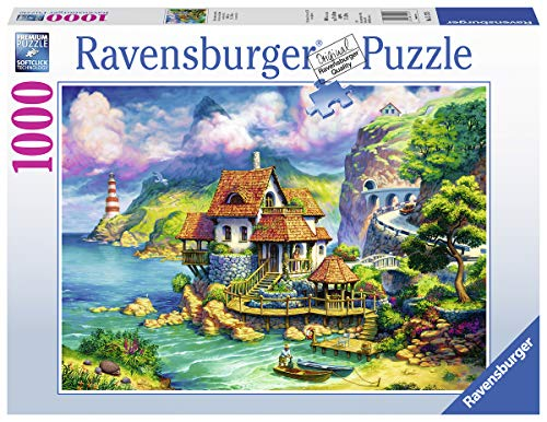 Ravensburger The Cliff House 15273 1000 Piece Puzzle for Adults, Every Piece is Unique, Softclick Technology Means Pieces Fit Together Perfectly