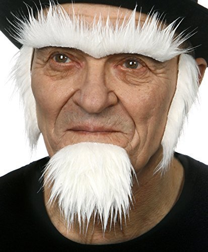 Mustaches Barba, Cejas y Patillas Estilo Tío Sam