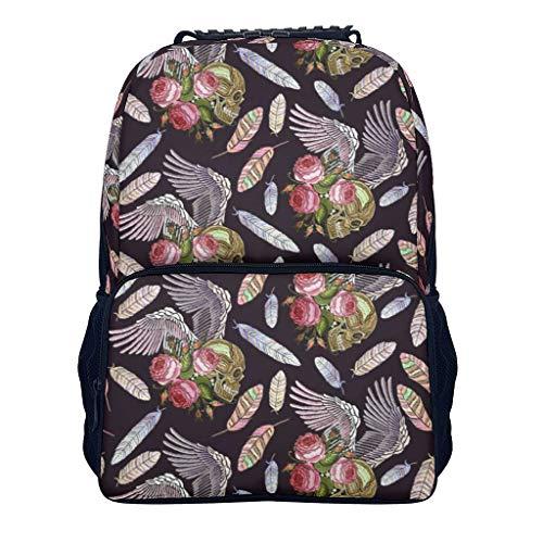 shaoziyun Elegant Rucksack für Damen Süße Teen Schulrucksack Schultasche für Jungen Daypacks 14Zoll Laptop Rucksack