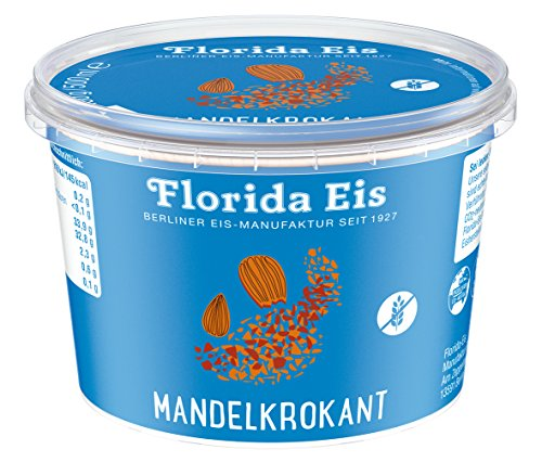"Eiscreme ""Florida Eis"" Mandelkrokant - Familienpackung - 500ml"