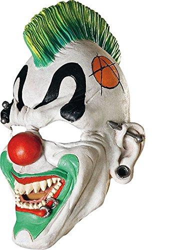 Masque de CLOWN PUNK - Terrifiant - Adulte - Taille Unique - HALLOWEEN