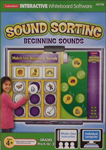 Price comparison product image Lakeshore White Board & Computer Interactive Sound Sorting Begining Sounds -- grades Pre k - 2nd