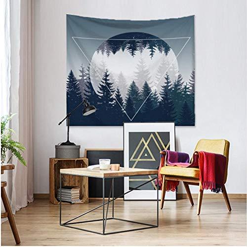 Relovsk Tapestriessun Maan Kunst Schilderen Tapestry Geometry Planet Thuis Muur Ophangen Decoratieve Plafond Gordijn