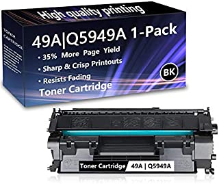 1 Pack (1 Black) 49A | Q5949A Toner Cartridge Replacement for HP Laserjet 1320 1320n 1320nw 1320tn 3390 MFP 3392 MFP 1160 Printer,Sold by AlToner.