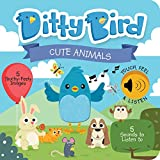Ditty Bird Our Best Interactive Touch and Feel Cute Animals Book for Babies