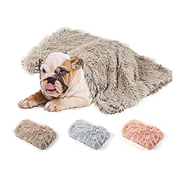 LLPing Couvertures d'animaux de Longue Peluche Dog Chat Chat Tapis De Cat Douze Deep Douze Couvertures Minces Douces pour Toute la Saison Lit d'utilisation Couvertures Matelas de Chat