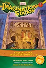 Imagination Station Books 3-Pack: Secret of the Prince's Tomb / Battle for Cannibal Island / Escape to the Hiding Place (AIO Imagination Station Books)