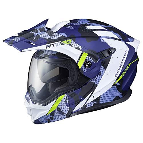Scorpion AT950 Helmet - Outrigger (XX-Large) (Matte Blue)