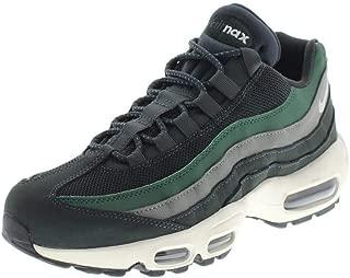 Mens Air Max 95 Essential Basketball Shoe (12, Green/Fir/Vintage Lichen/Sail)