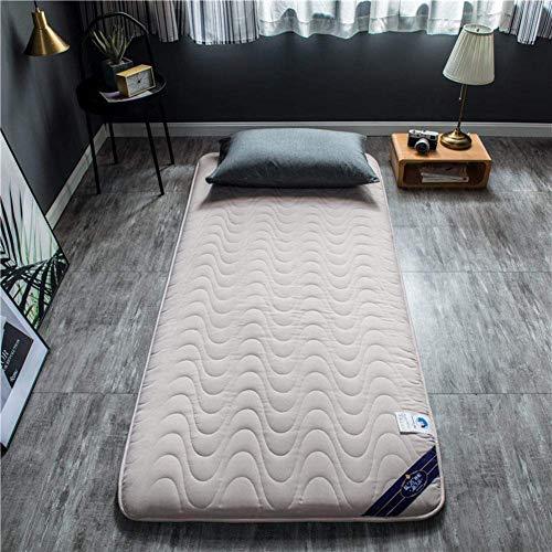 ZLJ Colchón de futón Grueso colchón de Tatami Doble Individual Warm tapete...