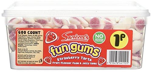 Swizzels Matlow Fun Gums Strawberry Tarts x 600