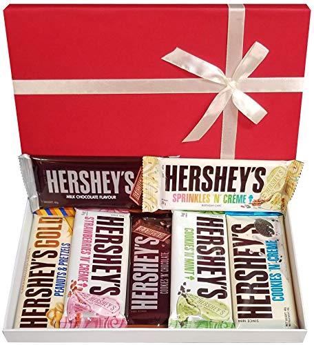 Iconic American Chocolates Selection Box Riegel in voller Größe Das Beste Schokoladengeschenk Von Hershey Für Jeden Anlass