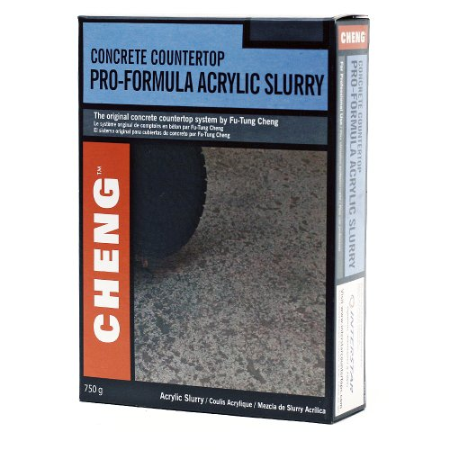 Cheng Concrete Acrylic Slurry for Concrete - Stone Color, 750 Grams