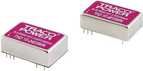 100% a estrenar con calidad original. Converdeisseur DC DC TracoPower THN 15-2422WI In In In 9 - 36 V DC Out ±12 V DC ±625 mA 15 W  gran descuento