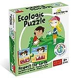 Adventerra Games Puzzle ecológico respetuoso con el medio ambiente. Juegos de mesa para niños...