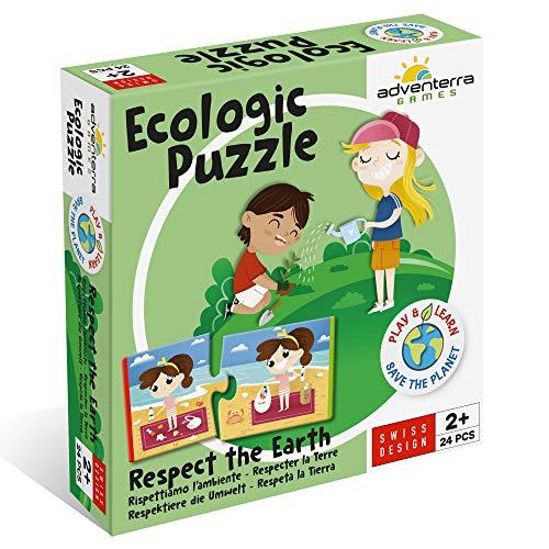 Adventerra Games Puzzle ecológico respetuoso con el medio a