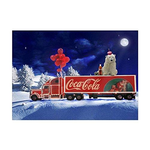 Naisidier Voiture de Coke de Nuit DE 30 * 40cm DIY Peinture Diamant 5D Cristal Strass Broderie Décoration Mural 1 PC