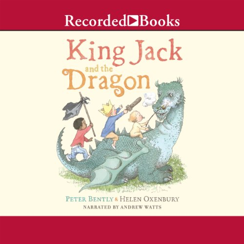 King Jack and the Dragon audiobook cover art