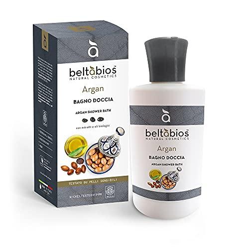Baño de ducha con aceite de argán, 250 ml, antioxidante, elastificante, vegano, sin OMG, 100% natural