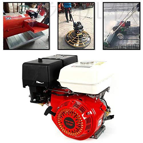 Motor de gasolina de 4 tiempos YUNRUX 190 F 25 mm, motor de estacionamiento, motor de carga pesada OHV, motor monocilíndrico, bombas de 7.5 ph, generadores, motor de gas, motor de gasolina