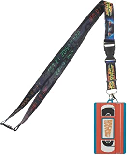 Back to the Future 90s Movie VHS Lanyard