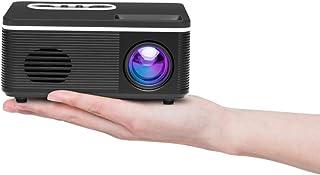 أنظمة المسرح المنزلي JHMJHM S361 80 لومن 480x320 بكسل جهاز عرض صغير محمول، يدعم 1080P، قابس الطاقة: قابس المملكة المتحدة (...