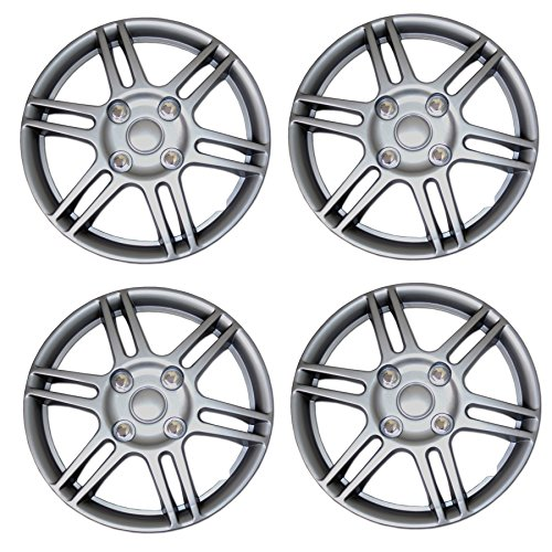TuningPros WSC3-004S14 4pcs Set Snap-On Type (Pop-On) 14-Inches...