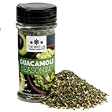 The Spice Lab Guacamole Mix Seasoning for Avocado - Shaker Jar - Perfect for Your Guacamole Chip Dip or With Tacos and Nachos - All Natural, Kosher and Keto Friendly