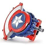 Tables Marvel'S Avengers, Lanzador del Escudo del Capitán América, con Bombas de Agua Adecuado para Juegos de rol, Niños, no Incluye Mascarilla