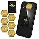 5G & EMF Blocker 6+1 pcs for Mobile Phones 2021 Latest Model – EMF Protection Cell Phone Stickers - 24K Gold EMF Pro Neutralizer - 5G Mobile Phone Protector - Anti-Radiation 7 Shilds for All Devices