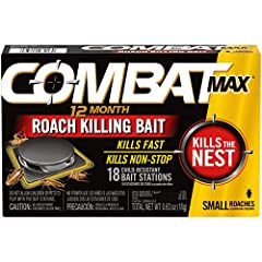 Start killing small roaches in hours and prevent them from returning for up to 12 months Easy to use, no mess baits do not require activation Simply place them where roaches are found and relax while they kill non-stop day and night Best used in area...