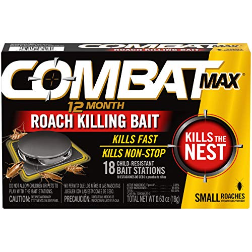 top 10 roach killers Up to 12 months cockroach food, small cockroach food, child resistant, pack of 18