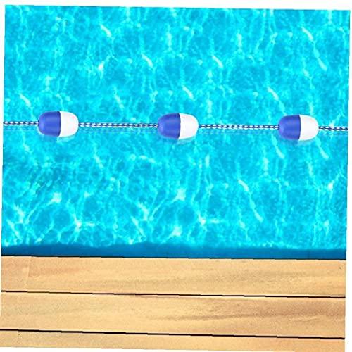 LjzlSxMF Divisor de Seguridad de la Piscina Piscina corchera Línea Ganchos 5M Seguridad Divisor Cuerda Cuerda Flotante