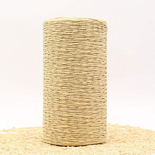 AILIFE 500G/Lot Summer Raffia Straw Knitting Crochet Knitwear Wool Yarn Hats Bags Baskets Yarn For Hand Knitting