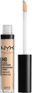 NYX Professional Makeup HD Photogenic Concealer Wand, Nude Beige, 0.11 Ounce